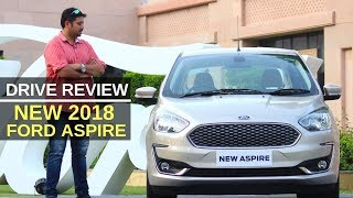 New 2018 Ford Aspire petrol / diesel first drive review
