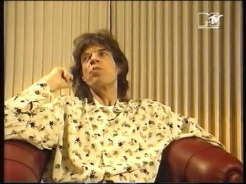 Mick Jagger on favorite music videos (MTV 1993)