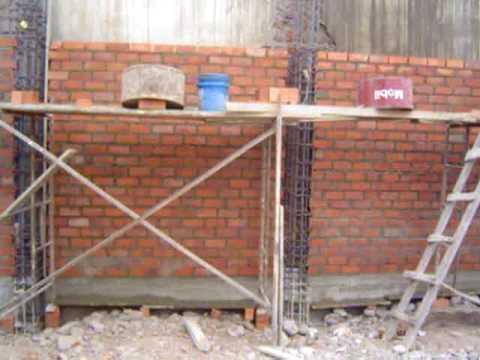 Tp asentado de ladrillo en alto youtube Construir una pileta de ladrillos