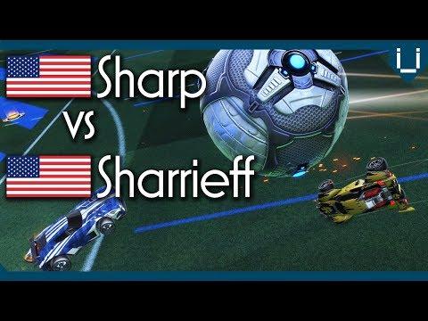 Sharp (Rank 1 NA) vs Sharrieff (Rank 11 NA)   Rocket League 1v1