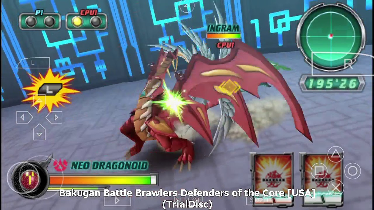 bakugan android gameplay
