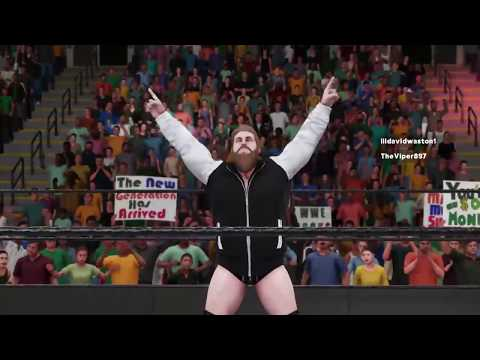 WWE 2K18| Bryce Cise Vs. Adrian West X Division Title (FHW)