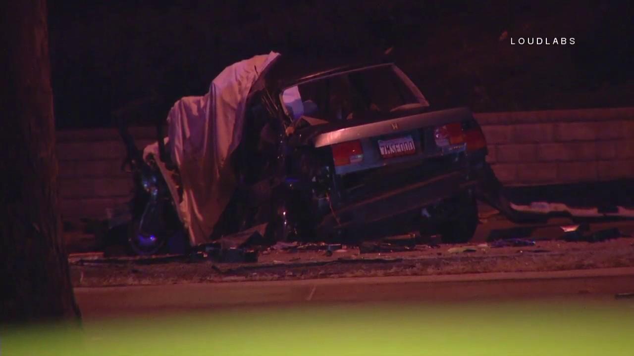 Double Fatal Car Crash / Santa Clarita RAW FOOTAGE