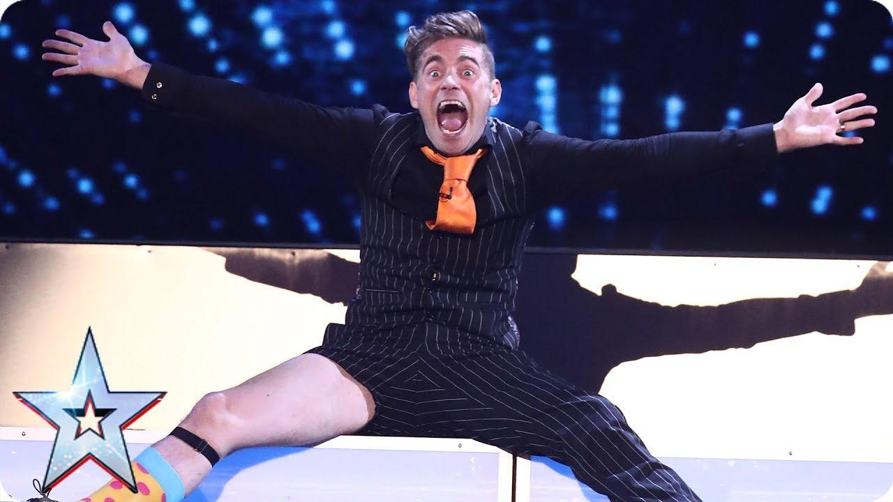 Matt Edwards łączy magię z komedią na żywo w brytyjskim Mam Talent
