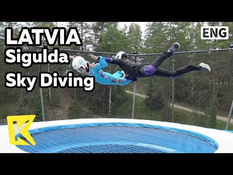 【K】Latvia Travel-Sigulda[라트비아 여행-시굴다]바람을 이용한 스카이 다이빙/Sky Diving/Aerodium/Mission Impossible