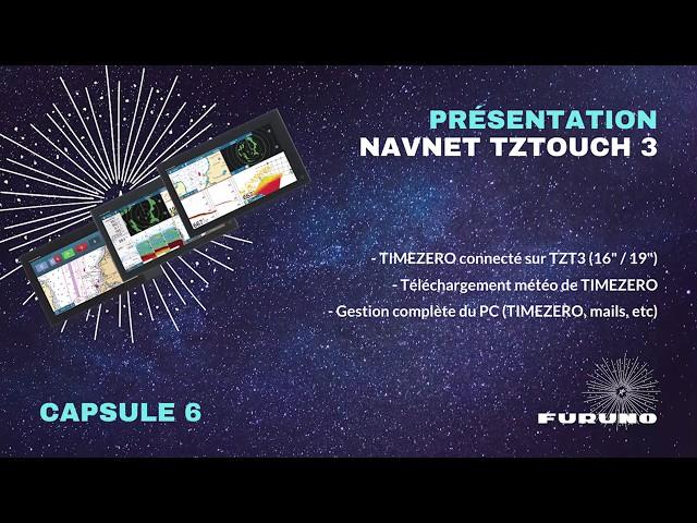 Écran Multifonction NavNet TZtouch 3 | Gestion de TIMEZERO