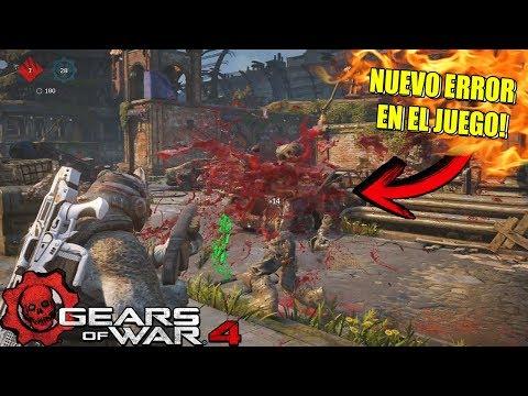 GEARS OF WAR 4   EL NUEVO ERROR MÁS FRUSTRANTE DEL MULTI-JUGADOR DE GEARS 4!!   ERROR AL CORRER