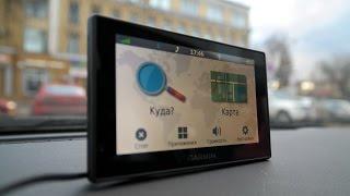 Garmin Drivesmart 50 - знакомство с автомобильным навигатором  (4k, UHD)
