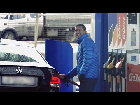 видео: Футболисты «Зенита» стали сотрудниками заправки