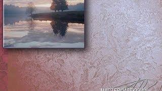 ВЕНЕЦИАНСКАЯ фреска Мастер классы декоративная КАРФАГЕНСКАЯ штукатурка TRAVERTINO Урок 11