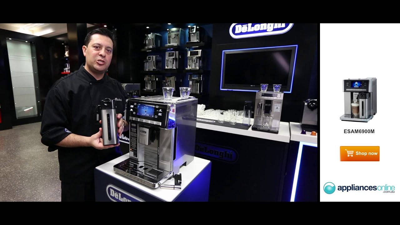 Electronic Prima Donna Delonghi Coffee Machine delonghis top of the range prima donna coffee machine also makes hot chocolate appliances online