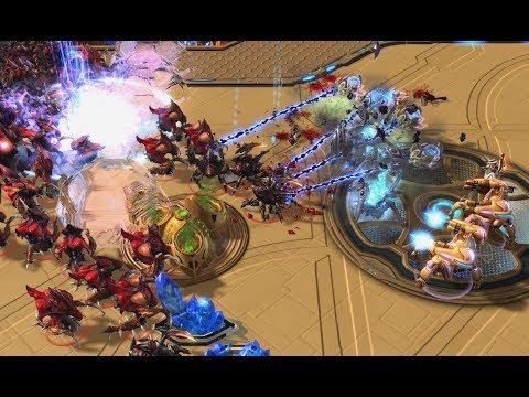 Dark (Z) v Zest (P) on Eternal Empire - StarCraft 2 - Legacy of the Void 2020