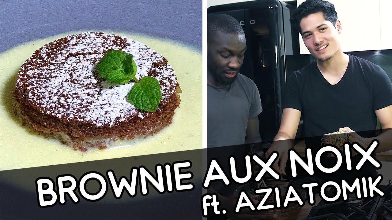 Brownie aux noix – YouCook & Aziatomik