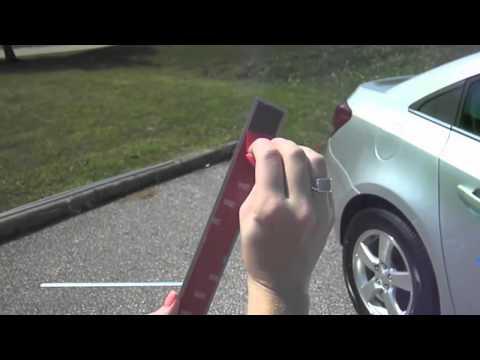 AUTO-TUNING Установка молдингов на двери автомобиля.