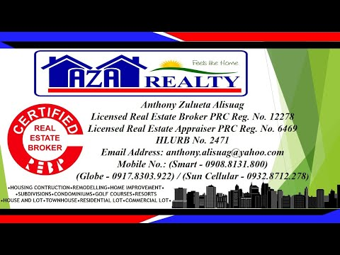 Aza Realty Affordable Property House and Lot For Sale