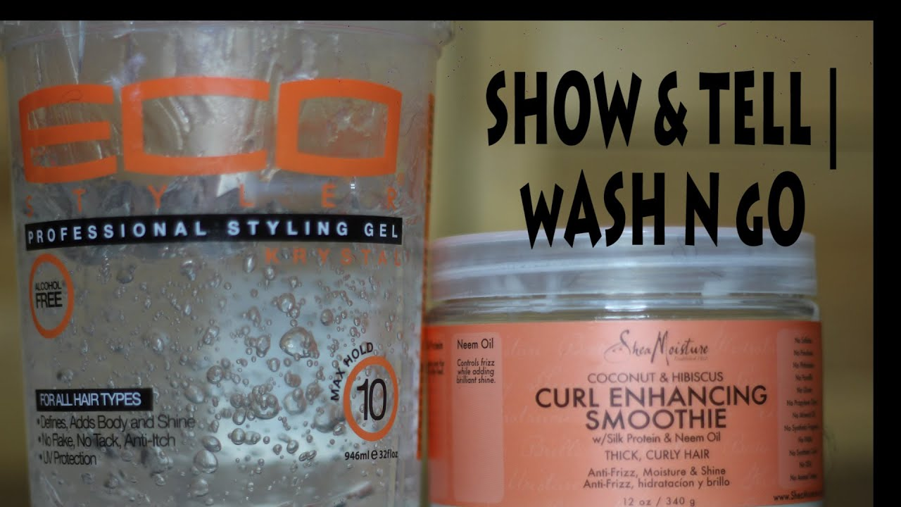 Wash N Go Shea Moisture Curl Enhancing Smoothie And