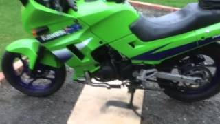 First start Ninja 250 turbo
