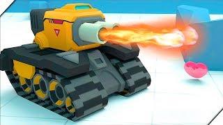 ВЕСЕЛЫЕ ЭКШЕН ТАНКИ - Tankr.io Игры Андроид