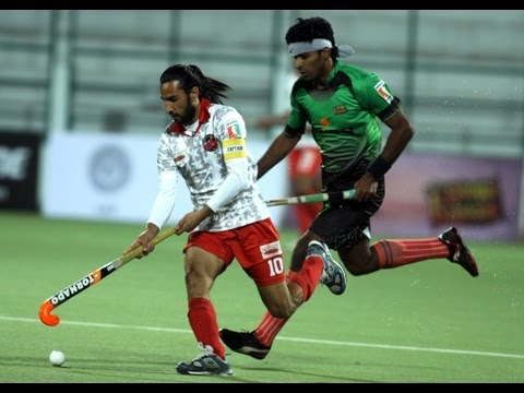 Bhopal Badshahs vs Delhi Wizards Highlights Match 20, World Series Hockey (WSH) 2012