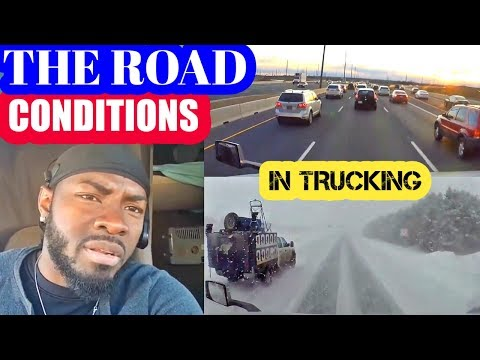 CANADA TO AMERICA ROAD CONDITIONS. vlog #23