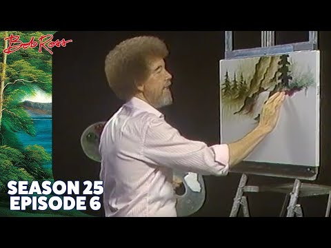 Bob Ross – Oriental Falls (Season 25 Episode 6)