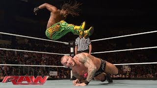 Kofi Kingston vs. Randy Orton: Raw, Jan. 13, 2014
