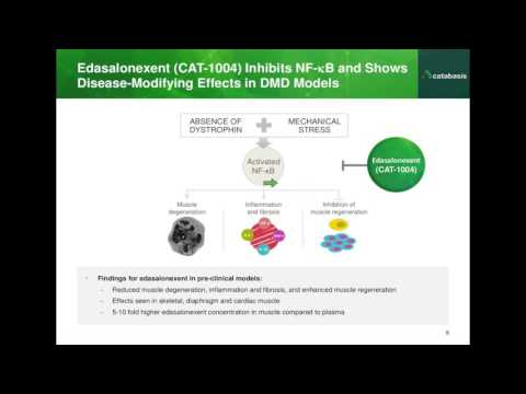 [Webinar] MoveDMD: A Clinical Trial of Edasalonexent (CAT-1004) in Duchenne - June 2016