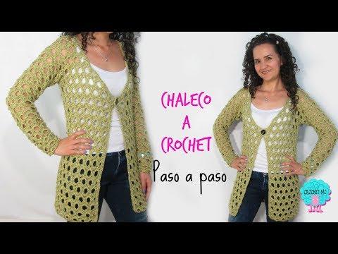 el precio se mantiene estable mas fiable Mejor precio Cardigan calado a crochet/ paso a paso - YouTube