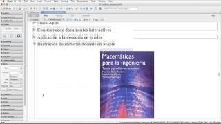Cálculo y visualización en docencia e investigación