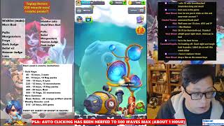 Taptap Heroes - 200 miracle eyes in H/H, maybe peaks after