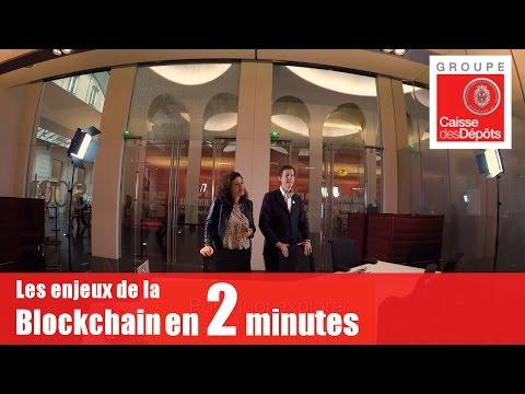 Les enjeux de la blockchain en deux minutes