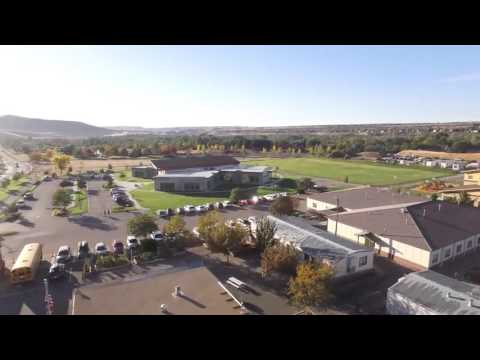 Bird's Eye View of Riverstone International School