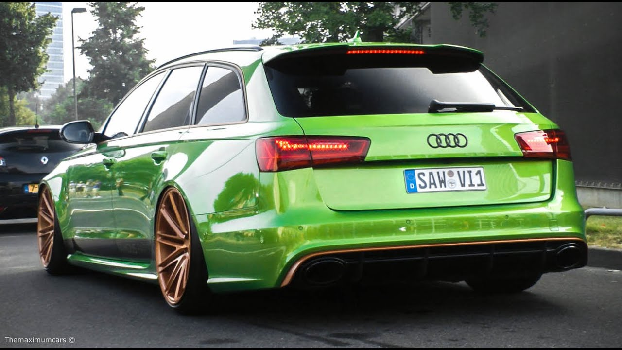 Audi Rs6 Avant C7 Loud Accelerations Amp Engine Sounds