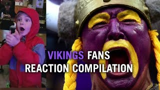 Vikings Fans React to Stefon Diggs Touchdown - Ultimate Compilation