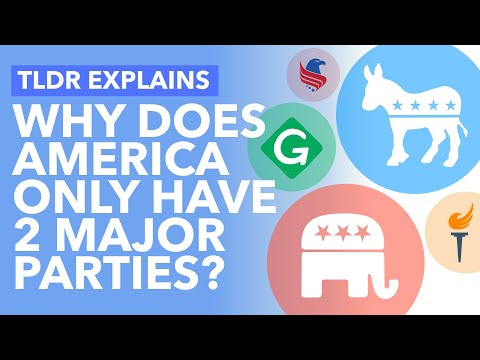 Why Third Parties Struggle in the US: Democratic and Republican Dominance in America - TLDR News