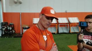 TigerNet.com - Brent Venables talks spring part two