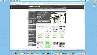 How to install an OpenCart template