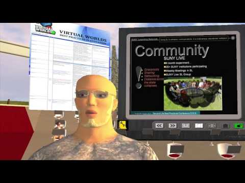 SUNY (State University of New York): SUNY Learning Network in Second Life® Part 1 of 4 (HD720p)