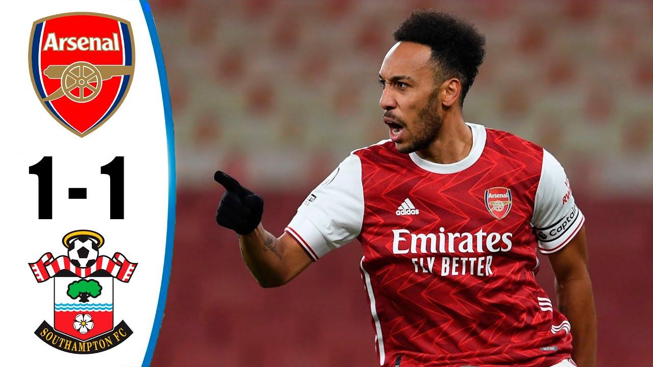Download Arsenal vs Southampton 1-1 All Goals & Highlights 16/12/2020 HD