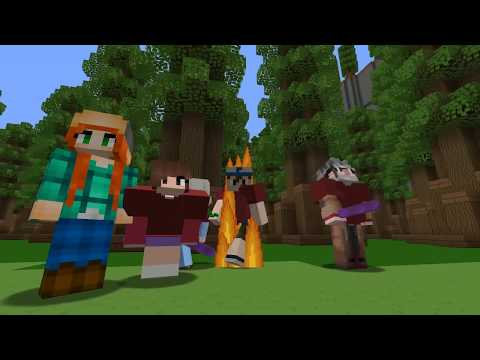 👉 ¡EL ESCONDITE EN GRAVITY FALLS! - MINECRAFT