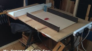 My Homemade Table Saw