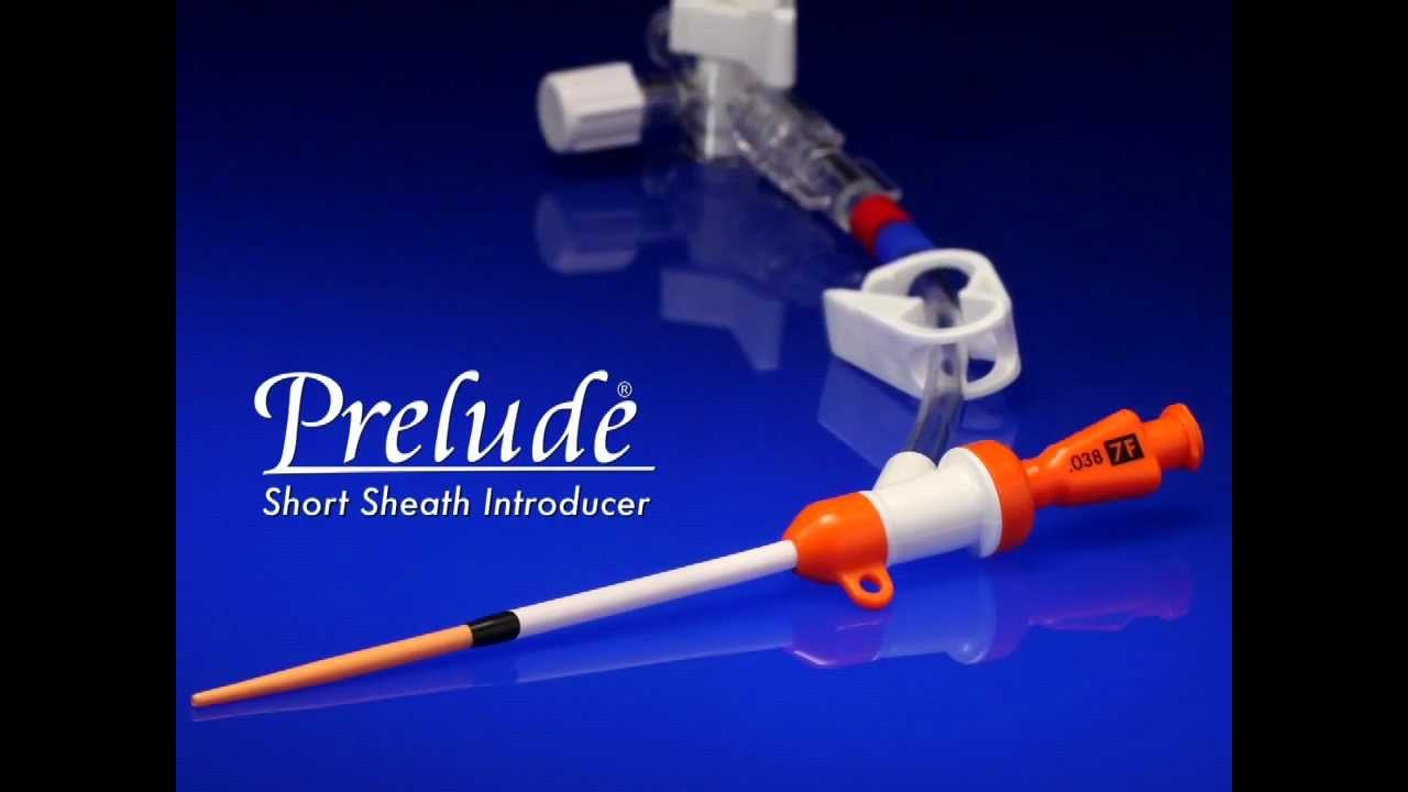 Prelude® Short Sheath Introducer Video and Animation