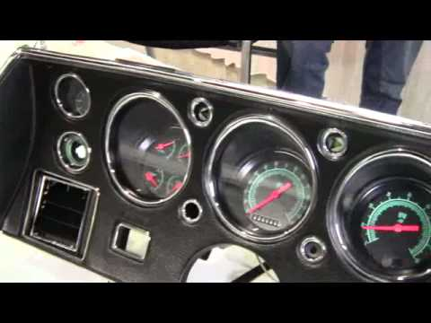 Ss Monte Carlo >> 1970-72 Chevelle gauges from Classic Instruments Inc. ID13118 - YouTube