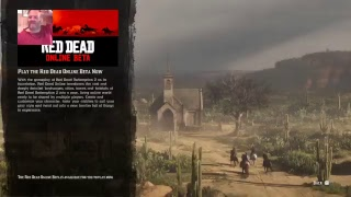 Red dead online ps4 slim gameplay live stream test