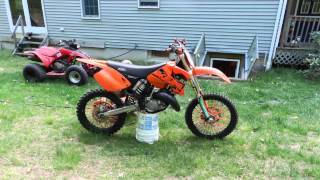 2003 Ktm125sx rebuild and edit