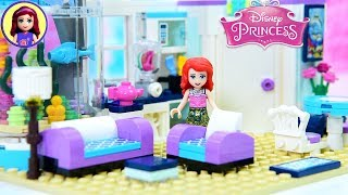 Ariel's Beachfront Apartment - Modern Day Princess Build Lego DIY Miniature Dollhouse