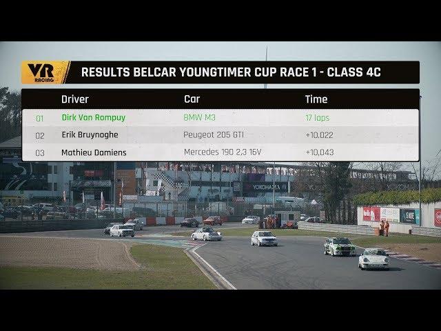 1000 km of Zolder Belcar Youngtimer Cup race 1 + race 2 highlights