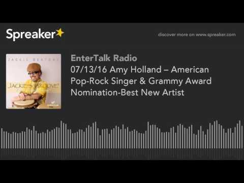 07/13/16 Amy Holland – American Pop-Rock Singer & Grammy Award Nomination-Best New Artist