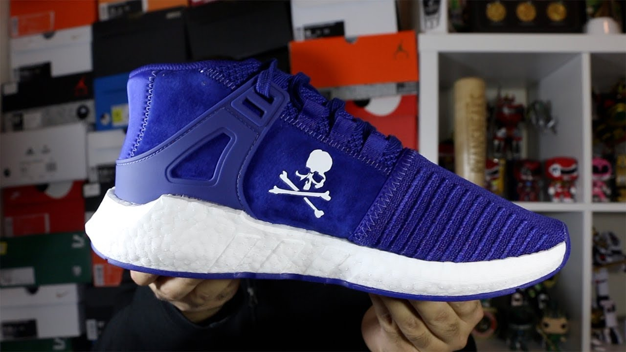 new concept f813f 9b2f9 ... Preview Of Adidas X Mastermind EQT Support Mid Mystery Ink Review! ...