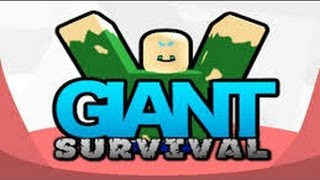 Roblox Giant's Survival|Roblox Let's Play!